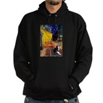 Cafe & Boston Terrie Hoodie (dark)