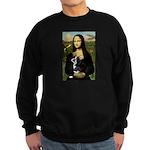 Mona & her Boston Ter Sweatshirt (dark)
