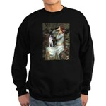 Ophelia & Boston Terrier Sweatshirt (dark)