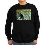 Irises & Boston Ter Sweatshirt (dark)