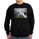 Creation of a Boston Ter Sweatshirt (dark)