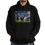 Starry Night & Bos Ter Hoodie (dark)