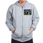Starry Night Boston Ter Zip Hoodie