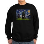 Starry Night Bouvier Sweatshirt (dark)