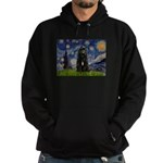 Starry Night Bouvier Hoodie (dark)