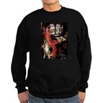 Lady & Boxer Sweatshirt (dark)