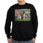 Lilies & Brindle Boxer Sweatshirt (dark)