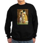 The Kiss & Boxer Sweatshirt (dark)
