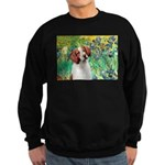 Irises/Brittany Sweatshirt (dark)