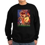 Mandolin Angel / Bull Terrier Sweatshirt (dark)