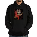 The Lady's Bull Terrier Hoodie (dark)