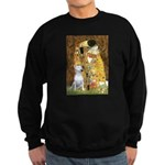 The Kiss & Bull Terrier Sweatshirt (dark)