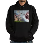 Creation/Cairn trio Hoodie (dark)