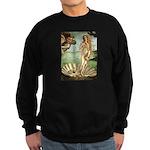 Venus / Cairn Terrier Sweatshirt (dark)