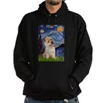 Starry Night / Cairn Terrier Hoodie (dark)