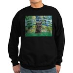 Bridge /Cairn Terrier (w) Sweatshirt (dark)