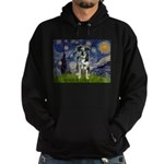 Starry / Catahoula Leopard Dog Hoodie (dark)