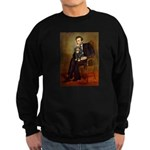 Lincoln & his Cavalier (BT) Sweatshirt (dark)