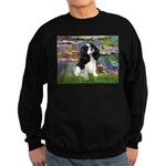 Lilies and Tri Cavalier Sweatshirt (dark)