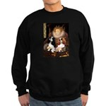 The Queens Cavalier Pair Sweatshirt (dark)