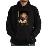 The Queens Cavalier Pair Hoodie (dark)
