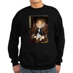 The Queen's Tri Cavalier Sweatshirt (dark)