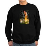 Fairies & Chihuahua Sweatshirt (dark)