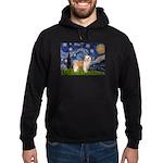 Starry/Puff Crested Hoodie (dark)