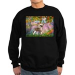 Garden / Chinese Crested Sweatshirt (dark)