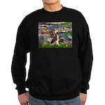 Lilies / C Crested(HL) Sweatshirt (dark)
