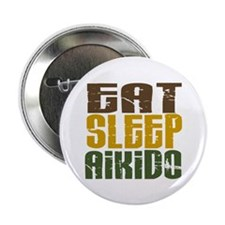 "Eat Sleep Aikido 2.25"" Button (100 pack)"