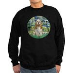 Bridge / Cocker Spaniel (buff) Sweatshirt (dark)