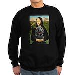 Mona's Black Cocker Spaniel Sweatshirt (dark)