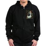 Ophelias Cocker Zip Hoodie (dark)