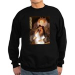 Queen / Collie (tri) Sweatshirt (dark)