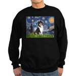 Starry Night / Collie (tri) Sweatshirt (dark)