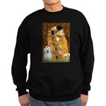 The Kiss / Coton Sweatshirt (dark)