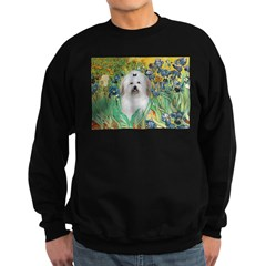 Irises / Coton Sweatshirt (dark)