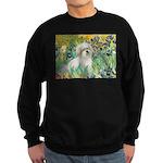 Irises / Coton Sweatshirt (dark)