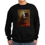 Lincoln's Dachshund Sweatshirt (dark)