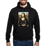 Mona's Dachshund Hoodie (dark)