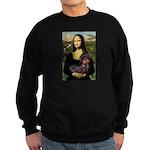 Mona / Dachshund (wire) Sweatshirt (dark)
