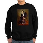 Lincoln's Red Doberman Sweatshirt (dark)