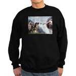 Creation / 2 Dobies Sweatshirt (dark)