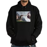 Creation / 2 Dobies Hoodie (dark)