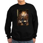 The Queen's Dobie Sweatshirt (dark)