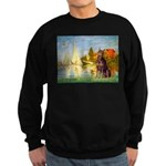 Regatta / Red Doberman Sweatshirt (dark)