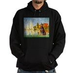 Regatta / Red Doberman Hoodie (dark)