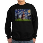 Starry / Red Doberman Sweatshirt (dark)