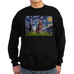 Starry / Red Doberman Sweatshirt (dark)